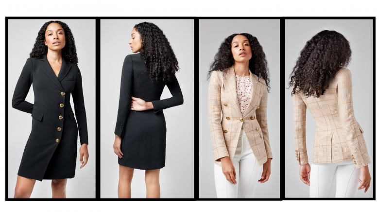The SMYTHE way: Canadian designers design perfectly tailored blazers.